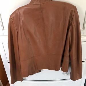 doncaster collection Jackets & Coats - Brown leather jacket